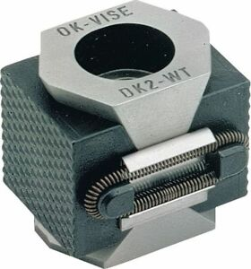 Mitee bite Products Vise Clamp Double Wedge 1 2 13 X 1 1 2in Dk2 wti