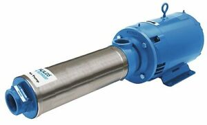 Goulds Water Technology 3 Hp Multi stage Booster Pump 1 Phase 115 230 Voltage