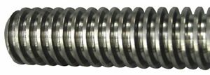 Threaded Rod Low Carbon Steel 1 5x6 Ft 44940