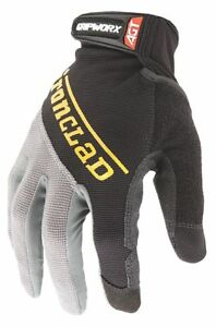 Ironclad Box Handling Mechanics Gloves Silicone Printed Synthetic Leather Palm