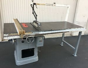 Delta Rockwell 34 450 Unisaw 10 Table Saw 2hp 230 460v 3ph 3450 Rpm wired 230