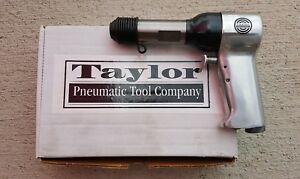 Taylor T 3x Pneumatic Rivet Gun Aircraft Tool W 7 Pc Rivet Bit Set 401 Shank