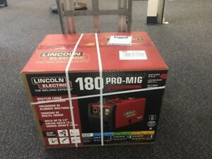 Brand New Lincoln Electric 230 volt 180 amp Mig Wire Feed Welder K2481 1
