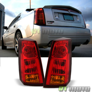 Pair 2003 2007 Cadillac Cts Tail Lights Brake Lamps Replacement 03 07 Left Right