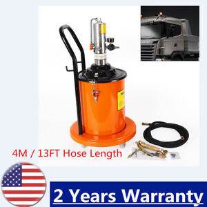 Effectively Controling The Noise Grease Pump High Pressure Hydraulic 4m Hose 20l