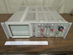 Tektronix 5110 Oscilloscope Rack Mount With Plugins