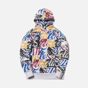 KITH X COCA-COLA CUBED GLOBAL HOODIE- MULTI SIZE SMALL