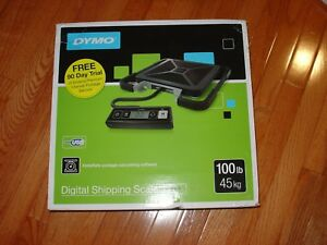 Dymo S100 Portable Digital Usb Shipping Scale 100lb Limit