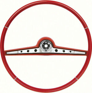 Oer 768149 1962 Chevrolet Impala Two Tone Red Steering Wheel