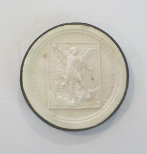 Authentic Grand Tour Classic Plaster Cameo Intaglio Medallion C 1820 3