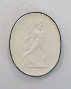Authentic Grand Tour Classic Plaster Cameo Intaglio Medallion C 1820 6