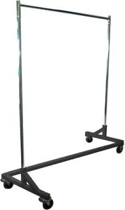 Only Hangers Gr600 Heavy Duty 400lb Capacity Z Rack 63 Length With Adjustable