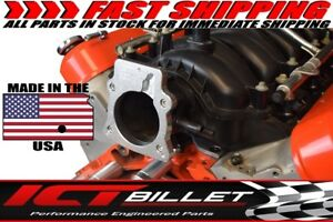 Ls 3 Bolt Throttle Body To Ls4 Intake Manifold Ls1 Tb Dbw Dbc Adapter