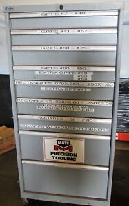 Lista 9 drawer Industrial Tool Parts Storage Cabinet