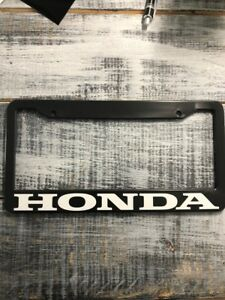 Honda License Plate Frame Free Shipping Civic Accord