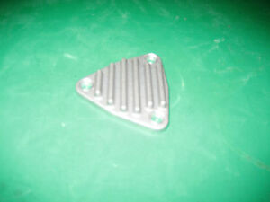Vintage Finned Tri Plate Cover For 71 Series Blower Supercharger 6 71 871 6v71