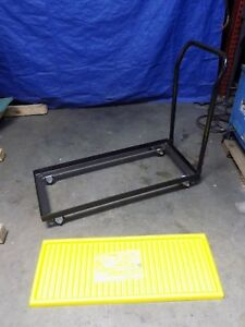 Eagle Steel Dolly Cart For 15 30 Gallon Safety Cabinets 1000 Lb Capacity 1935