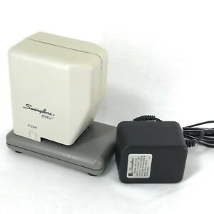Swingline 690e High volume Electric Stapler 30 sheet Capacity W Ac Adapter