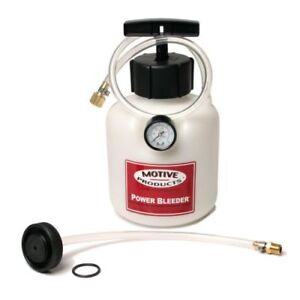 Motive Products 0107 Brake Power Bleeder System