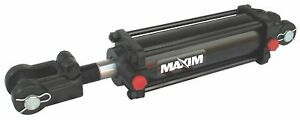 Maxim Double Acting Tie Rod Style Hydraulic Cylinder 4 Bore Dia in 48