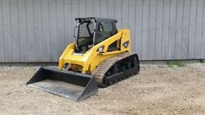 2004 Caterpillar 277 Cab Heat Air Track Skid Steer Loader Cat 277