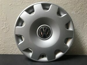 Vw Volkswagen Jetta 15 Oem Wheel Cover Hub Cap 1j0 601 147 N 98 99 00 01 02 New