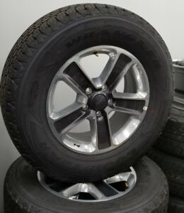 Set Of 5 2018 Jeep Wrangler Jl 18 Factory Wheels And Tires New