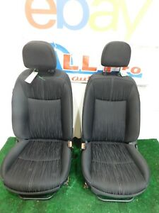 16 17 Nissan Sentra Black Cloth Front Bucket Seats L R Sedan Hot Rod
