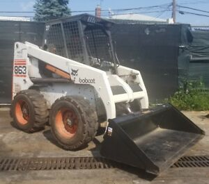 Bobcat 863 Skid Steer Loader Turbo Orops In Nyc