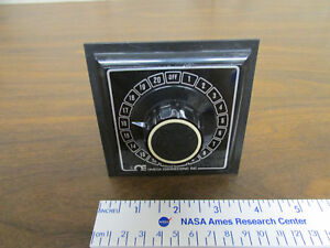 Omega Osw5 40 5 in Panel Rotary Thermocouple Selector Switch 40 position 2 pole