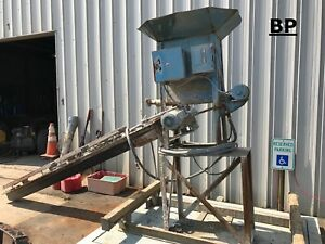 Concrete cement Mixer Metering Machine With 10 Auger chute