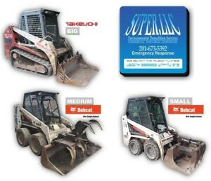 Two Bobcat s One Takeuchi Skid steer great Value Take It All 25 200