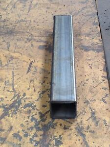 Steel Square Tubing 4 X 4 X 1 4 x 48 Long