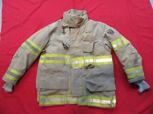 2008 Fire Dex Turnout Jacket 44 X 34 Drd Firefighter Bunker Gear Coat Globe