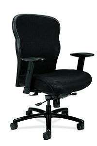 Hon Wave Big And Tall Executive Chair Mesh Office Chair With Adjustable Arms