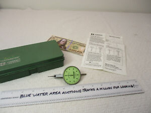 Federal Testmaster Dial Indicator Lt 83 0005 Large 2 Dial Smooth Mvmt Ln