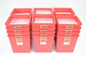 Sharps Collection And Disposal Containers 2 gallon With Locking Lids 26 Count