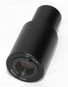 1 Nikon Cf Pl2x Photo Relay Lens Microscope Projection
