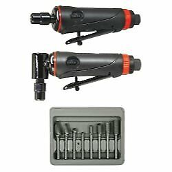 Astro Pneumatic Onyx 3 Pc Die Grinder Kit With 8 Pc Double Cut Carbide Rotary