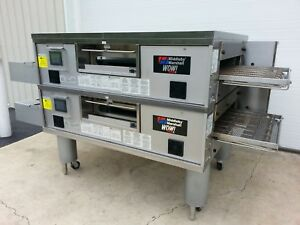 2014 Middleby Marshall Ps770 Wow Double Stack Conveyor Ovens 32 Belt Width