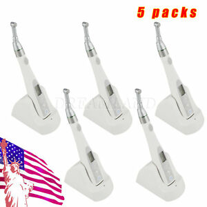 5x Digital Cordless Dental Endo Motor Root Canal 16 1 Recirpocating Head Fit Nsk
