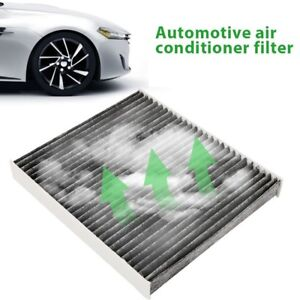 Carbon Fabric Cabin Air Filter For Infiniti 2009 2013 Nissan Gt R 27277eg025 Tw