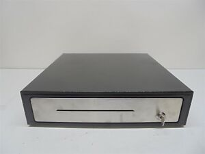 Heavy Duty Black Pos Cash Drawer Stainless Steel Front