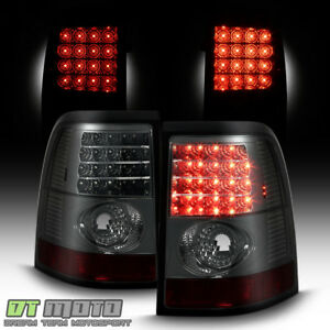 Smoked 2002 2005 Ford Explorer Led Tail Lights Brake Lamps Left Right