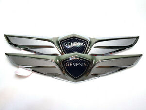 Genuine Oem Wing Logo Front Rear Emblem fits Hyundai Genesis 2017 G80 Sedan