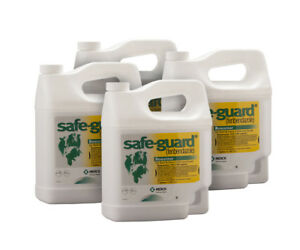 Safe guard Dewormer Beef Dairy Cattle Goats Susp 10 case Of 4 1gallon Jugs