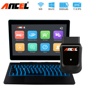 Wifi Full System Scanner Tablet Obdii Diagnostic Tool Dpf Epb Srs Abs Reset Tool