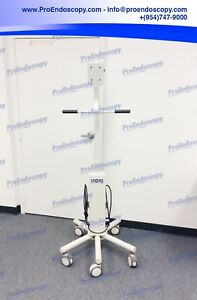 Karl Storz Endoscopy 26 Monitor Roll Cart Stand