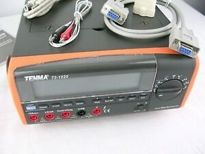 Tenma 72 1020 Bench Digital Multimeter True Rms Tester Tool Usb Probe
