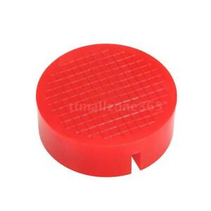 1 Ea Universal Red Floor Jack Disk Pad Adapter For Pinch Weld Side Jackpad L6z7
